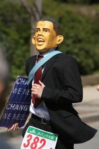 オバマも走る