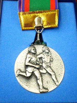 あいの土山マラソンのメダル